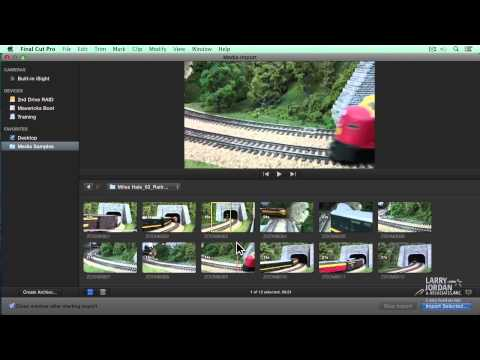 Importing - http://www.larryjordan.biz - Puzzling over how to import media into Final Cut Pro X (10.1)? Take a look at this chapter from our video training and examine h...
