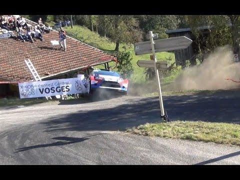 Rallye de France 2014 - Crash Kubica - ES5 - Chatas