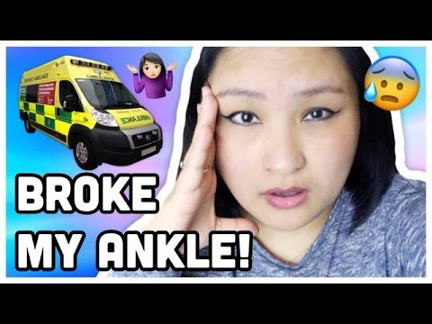 (Ouch, Broke my Ankle!!! Ambulance Came - Cried Buckets...4 minu, 55 sec.)
