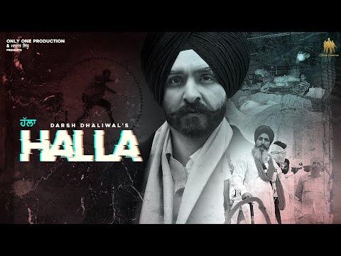 Halla | Darsh Dhaliwal | Param | New Punjabi Song 2020 | Latest Punjabi Song 2020