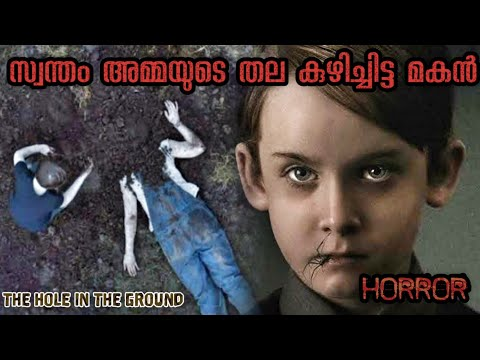 The Hole in the ground | English Movie Explained in Malayalam | Full Movie Review in Malayalam
