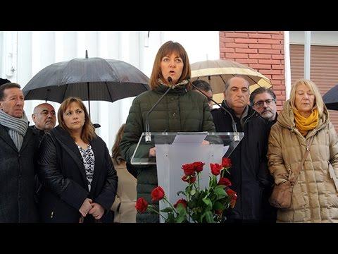 Homenaje a Isaías Carrasco.