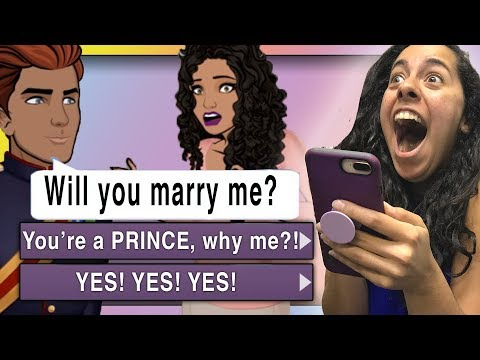 *New Series!* How I'm Becoming A Princess!!! (I Married A Prince #1 | Episode Choose Your Story)