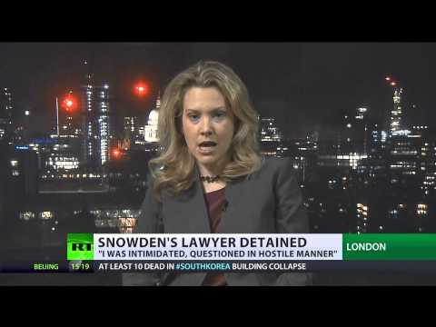 Border Bother: Snowden's lawyer 'harassed' at Heathrow Airport