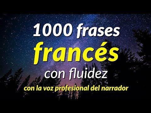 Frases de vida - 1000 frases francés con fluidez - con la voz profesional del narrador