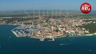 Biograd na Moru Croatia  City new picture : BIOGRAD NA MORU - AERIAL FOOTAGE