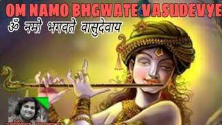 Om Namo Bhagavate Vasudevaya ,lord Vishnu Bhajan By Amit Sagar'