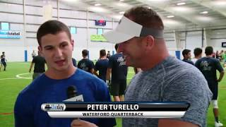 Waterford QB Peter Turello
