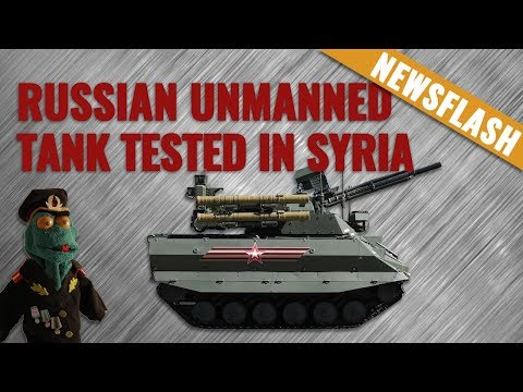 Russian Uran-9 unmanned combat vehicle tested in Syria