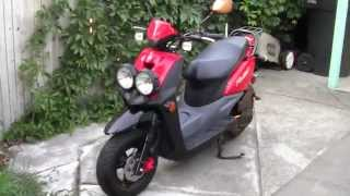 9. 2013 Yamaha Zuma 50cc Review
