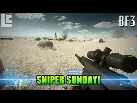 Sniper Sunday – M98B & CTF (Battlefield 3 Gameplay/Commentary/Review)