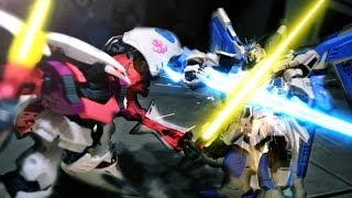 Gundam stop motion - Toys Battle