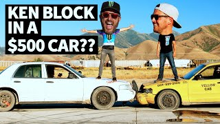 Video $500 Rallycross?? Ken Block and Steve Arpin Race in Ex Police Cars - Ford Crown Victoria Mayhem MP3, 3GP, MP4, WEBM, AVI, FLV Agustus 2019
