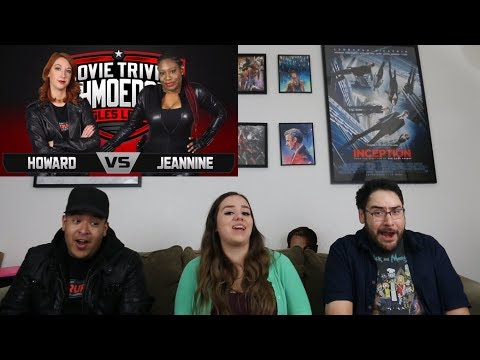 Stacy Howard Vs Jeannine The Machine Reaction - Movie Trivia Schmoedown