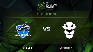 Vega Squadron vs AD Finem, Boston Major EU Qualifiers