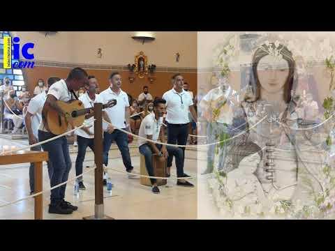 LOS SIETE AMIGOS cantan a la Vírgen del Mar de Punta del Caimán en su Festividad