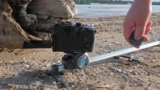 Super portable, lightweight, and capable! The Movie Maker Set by GripGear: https://goo.gl/tmxyIw Joby ball head: https://goo.gl/ukijJM