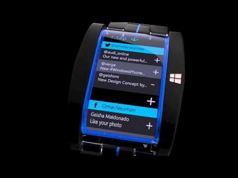 Microsoft Smartwatch Concept: Shut Up and Take My Money