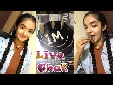 Video Anushka Sen 1 Million || New Full HD Live Chat Without Comment 12 Dec 2017 download in MP3, 3GP, MP4, WEBM, AVI, FLV January 2017