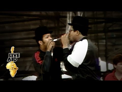 Run DMC - King Of Rock  (Live Aid 1985)
