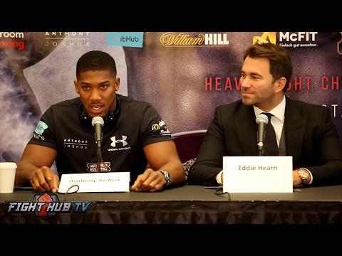 Joshua v Klitschko: New York Press Conference