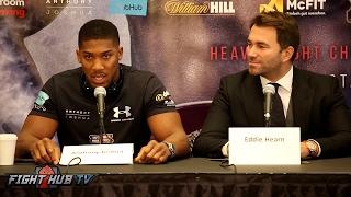 Joshua vs. Klitschko New York Press Conference