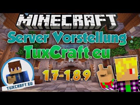 Minecraft Server Vorstellung [1.7 bis 1.8.1] [German] – TuxCraft | Spiele, PvP, Survival und mehr!