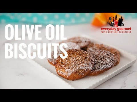 Olive Oil Biscuits | Everyday Gourmet S7 E69