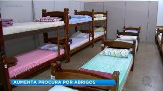 Frio aumenta procura por casa de acolhimento em Marília