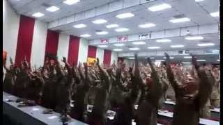 "America's Marines Singing ""Days of Elijah"" - YouTube"