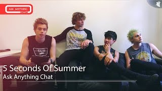 5 Seconds Of Summer Saturday Night Online Ask Anything Chat w/ Romeo 07/19/14 #AskAnything