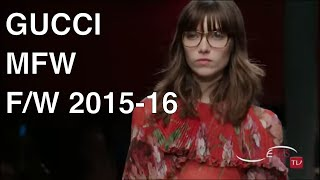 GUCCI Fashion Show Fall Winter 2015 2016 - HD