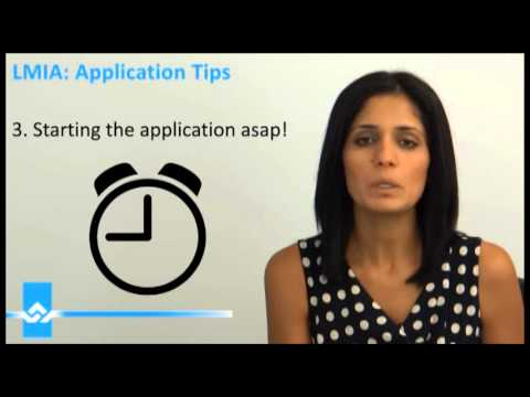 LMIA Application Tips Video