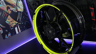 Video motoinkz fluorescent green wheel stripes tape MP3, 3GP, MP4, WEBM, AVI, FLV November 2018