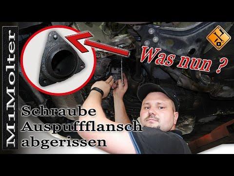 Stehbolzen vom Krümmer abgerissen! Was nun? Anleitung zum Bolzen-entfernen von M1Molter