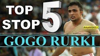 Top 5 Stop Gogo Rurki at Kabaddi Tournament