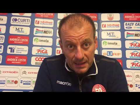 Imola, le parole di Cavina pre match Fortitudo Bologna