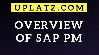 SAP PM introduction