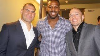 UFC World Tour Los Angeles Press Conference