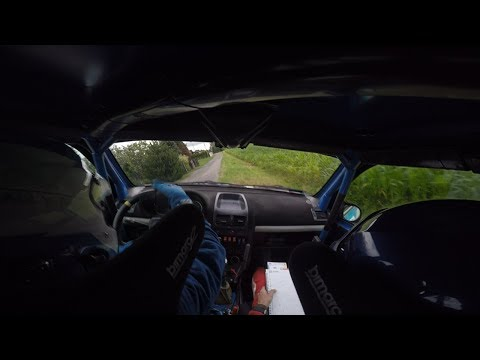 2 Rajd Śląska 2018 Stańdo/Grzesik KRIS-BUD Rally Team