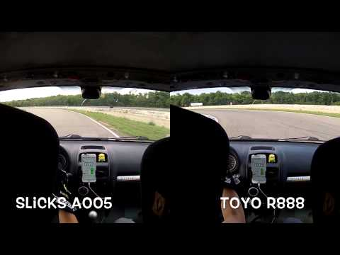 Slick A005 VS. TOYO R88