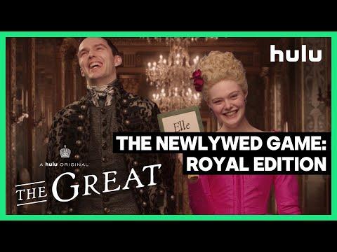 Cast Superlatives: Nicholas Hoult and Elle Fanning • The Great • A Hulu Original