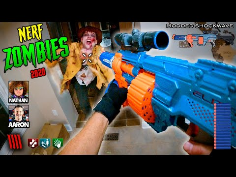NERF meets Call of Duty: ZOMBIES! 2020   (Nerf Gun First Person Shooter!)