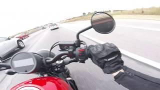 9. 2017 Honda Rebel 500 Highway Ride. Gotta Go FAST