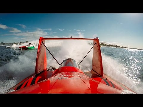 Racing a Hydroplane is for Bad Asses Only