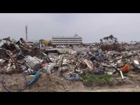 宮城県仙台市若林区荒浜(2011/5/10撮影)