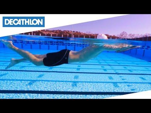 Tutorial di nuoto - Lezione 12: Rafforzare la battuta di gambe   Decathlon Italia