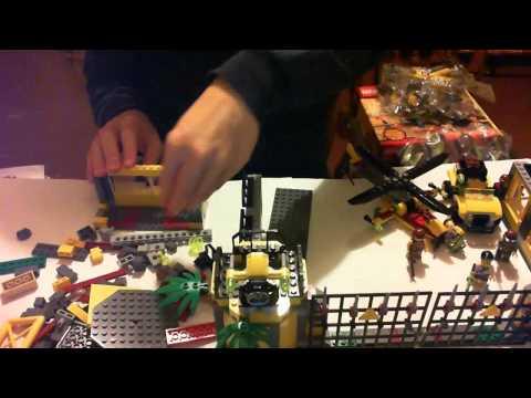 Vidéo LEGO Dino 5887 : Le QG de défense contre les dinosaures