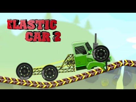 Эластичная тачка часть 5 - ELASTIC CAR 2 KIDS gameplay прохождение летсплей для детей про машинки