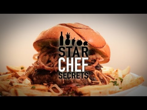 chef secrets - Top Chef Ilan Hall teaches you how to take an awesome burger to the next level with onions from crispy, caramelized to fried plus how to elevate the standard...